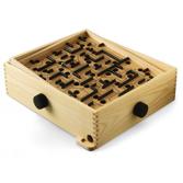 Labyrint spelet Träfärgad