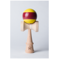Sweets Kendama - F3 aTack Stripe Maroon-Yellow