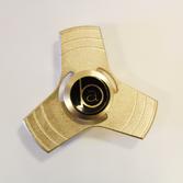 BA - Fidget Spinner Metallic Guld