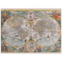Ravensburger pussel: Historisk Världskarta 1500 bitar