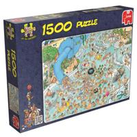 Jan van Haasteren Pussel - Whaky Waterworld 1500 bitar