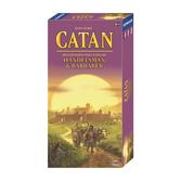 Settlers från Catan: Handelsmän och Barbarer 5-6 spelare Expansion (Exp.)