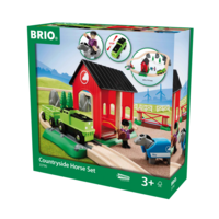 Brio Tågset - Countryside Horse Set
