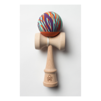 Sweets Kendama - F3 Rubber Grain Aqua, Orange & Purple