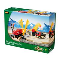 Brio Tågset - Järnväg med bilbana