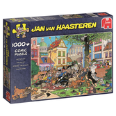 Jan van Haasteren Pussel - Get That Cat! 1000 bitar