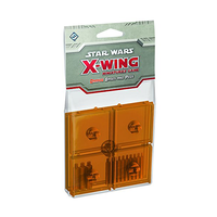 Star Wars: X-Wing Miniatures Game – Orange Bases and Pegs (Exp.)