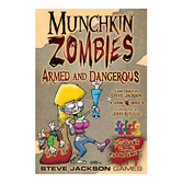 Munchkin Zombies: Armed and Dangerous (Exp.) (Deluxe)