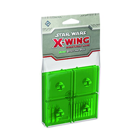Star Wars: X-Wing Miniatures Game - Green Bases and Pegs (Exp.)