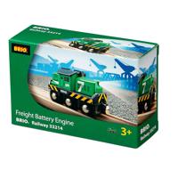 Brio Trätåg - Batterigodståg