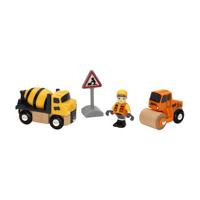 Brio Trätåg - Bygg och vägfordon