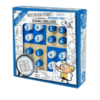 Professor Head Spinner's Sudoku Challenge