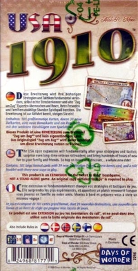 Ticket to Ride: USA 1910 (Exp.)