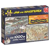 Jan Van Haasteren pussel -  2x1000 bitar