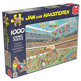 Jan van Haasteren Pussel - Football Crazy 1000 bitar