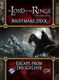 The Lord of The Rings: The Card Game - Escape from Dol Guldur Nightmare Deck (Exp.)