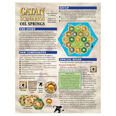 The Settlers of Catan Scenarios - Oil Springs