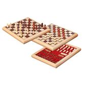 Chess Checkers Box Set
