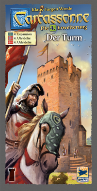 Carcassonne Expansion - The Tower (Swe)