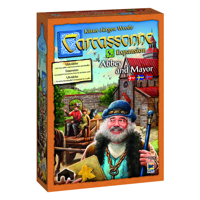 Carcassonne Expansion - Abby and Mayor (Swe)