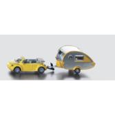 Siku 1:87 - 1629 Bil med Husvagn