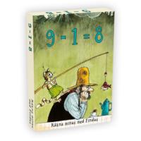 Findus 9-1=8 Räkna Minus med Findus