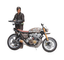 The Walking Dead Daryl Dixon & Chopper Deluxe Action Figure