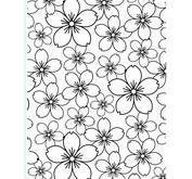 Embossing folder -  10,8x14,6cm cherry blossom