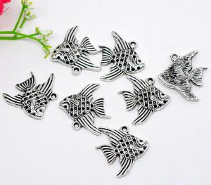 4 st fiskar (silver)xx