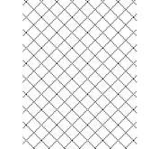 Darice - Embossing folder -wire fence