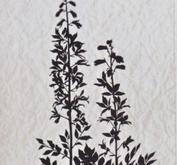 Nellie - Snellen - clear stamp Condolense flowers 005