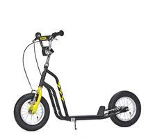 Sparkcykel Yedoo Wzoom svart/gul