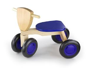 Trehjuling -trä, blå