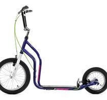 Sparkcykel Yedoo City New lila/vit