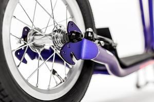 Sparkcykel Yedoo City New vit/svart