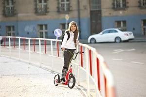 Sparkcykel Yedoo Ox New röd/svart