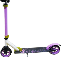 Sparkcykel KRF Urban Scooter 145 Lila/vit