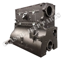 Engine block 4 cyl L-head gear to gear drive NEW MADE