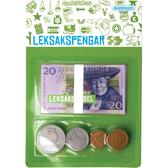 Leksakspengar Kärnan - Mynt & Sedlar Svenska kronor