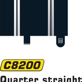 Scalextric 1:32 - Quarter Straight 87mm (2st)
