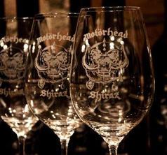 MOTÖRHEAD WINE - SHIRAZ WINE GLASSES