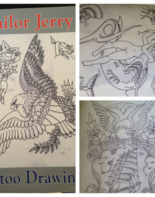 Sailor Jerry Tattoo Drawings