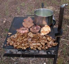 Mountain Man Jr. Over Fire Grill & Griddle
