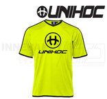 UNIHOC T-shirt Dominate Neon Yellow