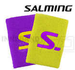 Salming Wristband Short 2-pack purple / safely yellow