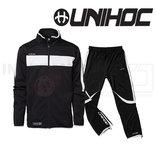 UNIHOC Tracksuit Cadiz black / white