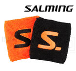 Salming Wristband Short 2-pack black / magma red