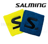 Salming Wristband Short 2-pack electric blue/saftey yellow