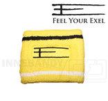 Exel Wristband E short yellow
