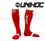 Unihoc Sock Badge - Red